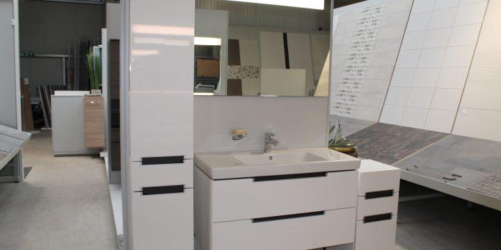 Waschtischkombination Villeroy & Boch glossy white