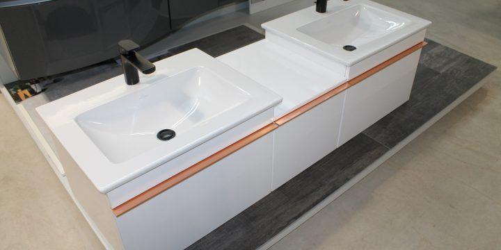 Waschtischkombination Villeroy & Boch Alpin