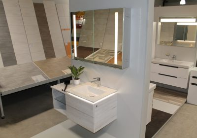 Waschtischkombination Villeroy & Boch white wood